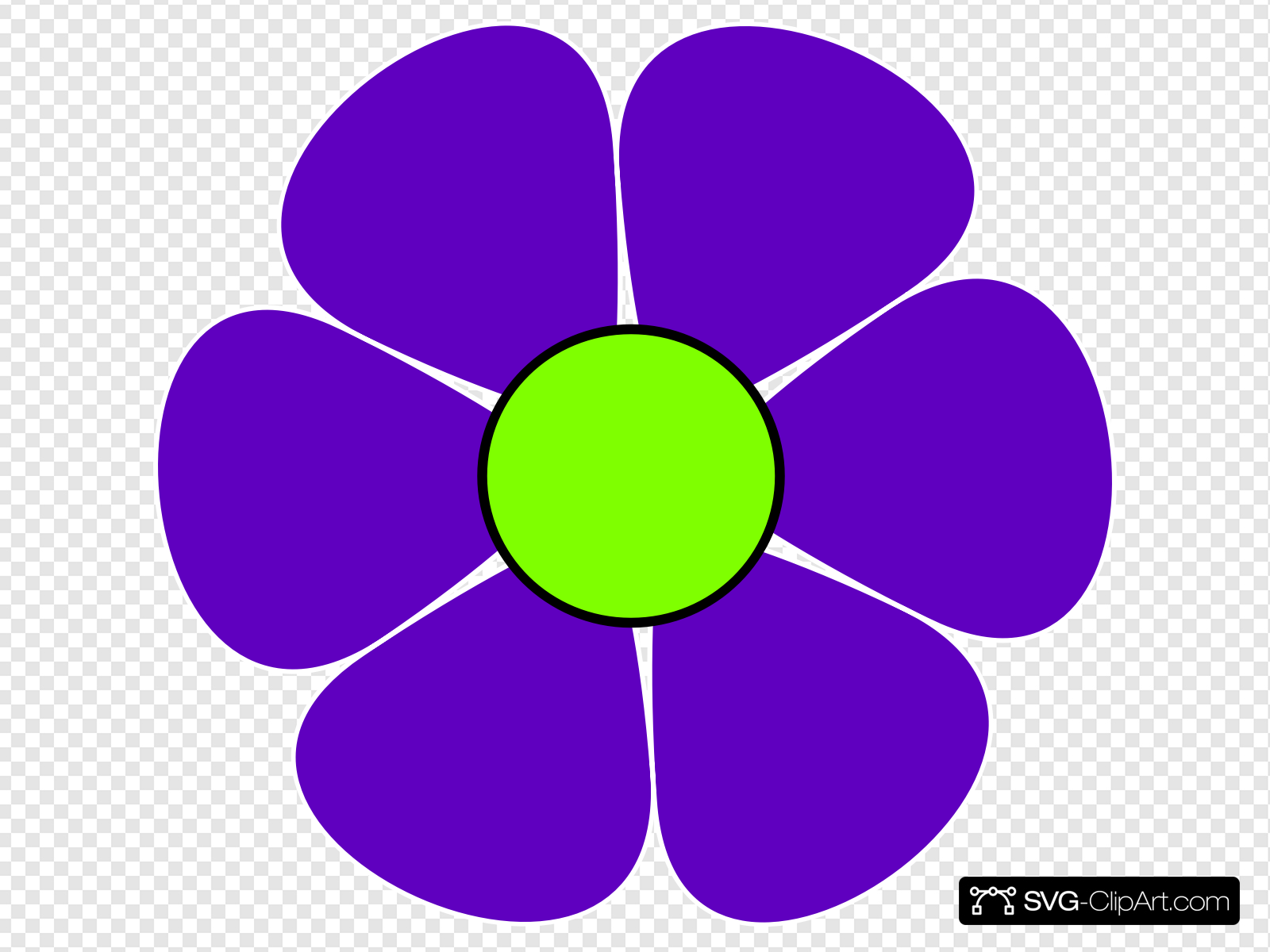 Flower Power Clip art, Icon and SVG.