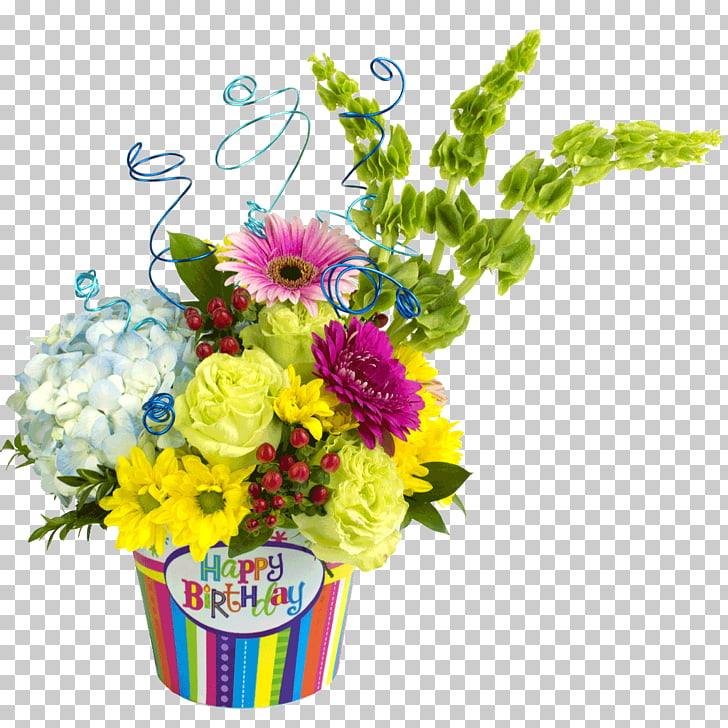 Floral design Flower bouquet Birthday Birth flower, flower.