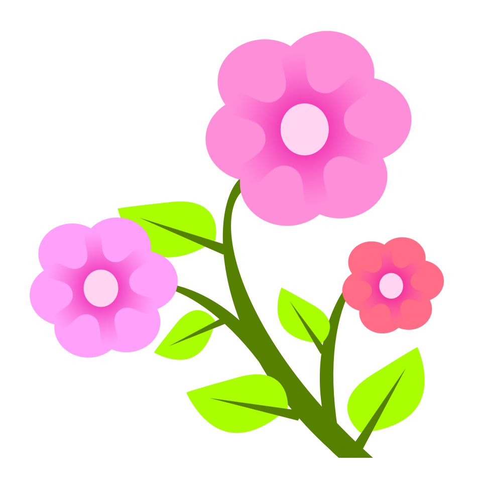 Flower Vector PNG Image.