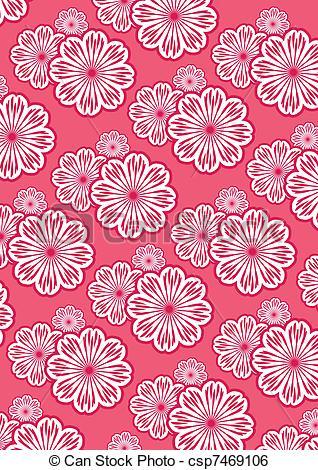 Clip Art Vector of Wallpaper.