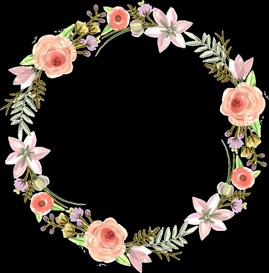 Flower Wreath Bridesmaid Design Invitation Floral Wedding.
