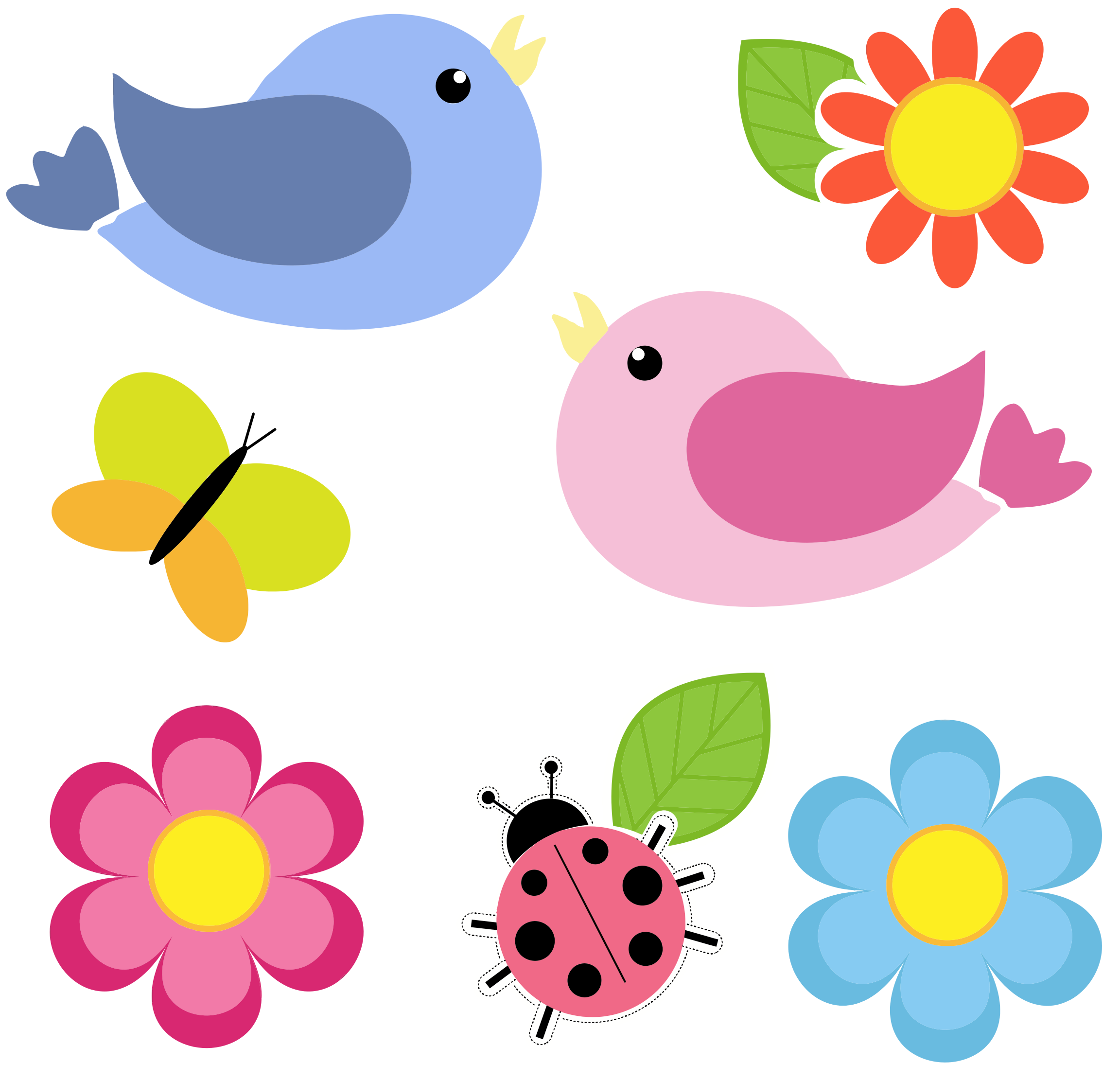 Clipart flowers and butterflies png 6 » Clipart Station.