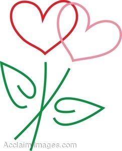Clipart flowers and hearts 5 » Clipart Station.