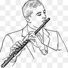 Download flute drawing clipart Flute Drawing.