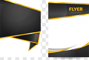 Flyer Template cutout PNG & clipart images.