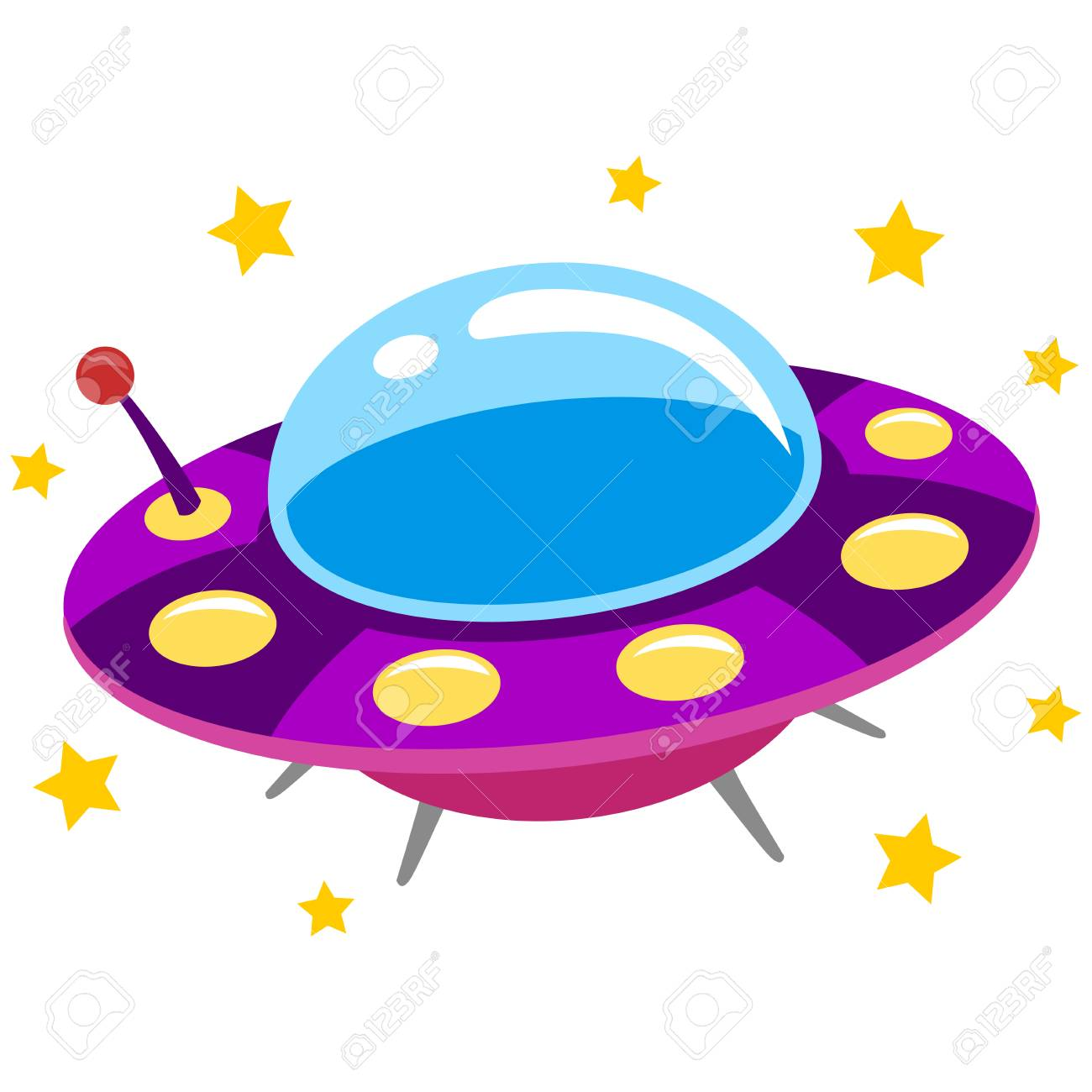 Flying saucer clipart 6 » Clipart Station.