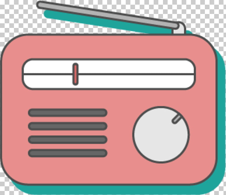 Microphone Radio station FM broadcasting, Cute FM radio PNG.