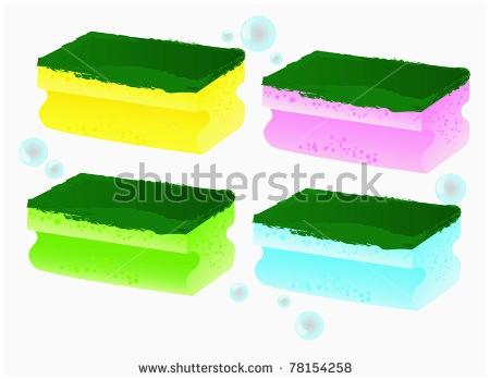 Sponge clipart foam.