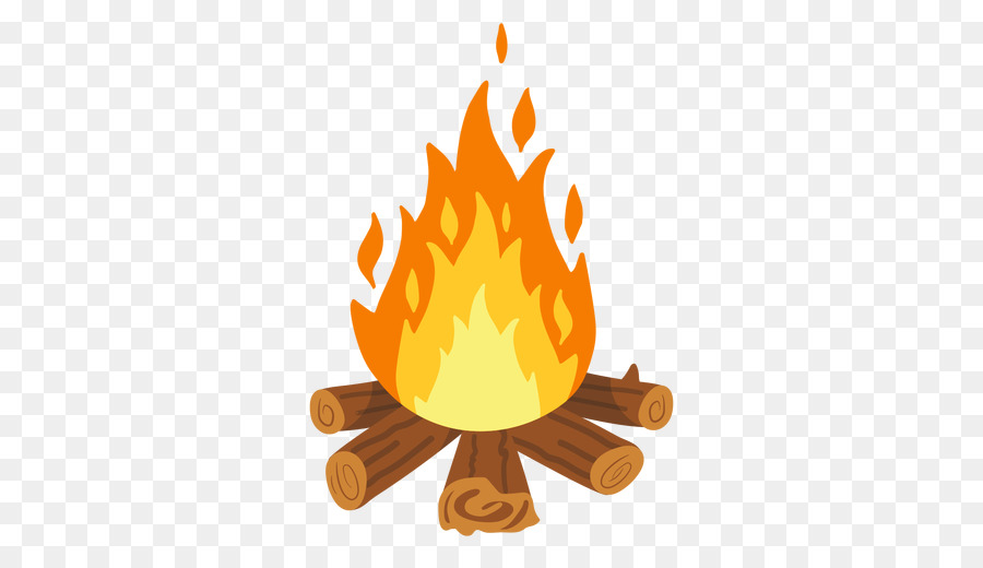 Campfire Cartoon clipart.