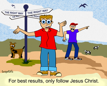 Clipart Follow Jesus.