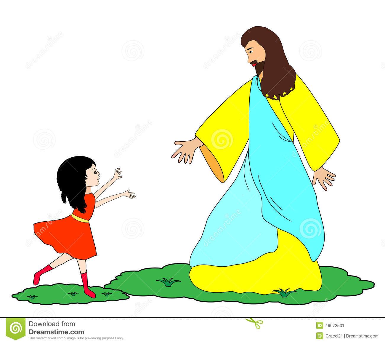 Clipart Jesus Follow Me.