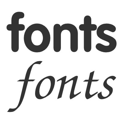 Free Clipart of Fonts.