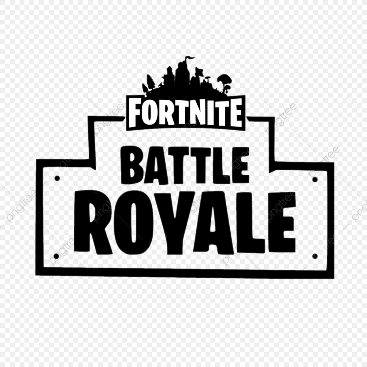 Fortnite Black, Fortnite, Pc, Video PNG and Vector with Transparent.