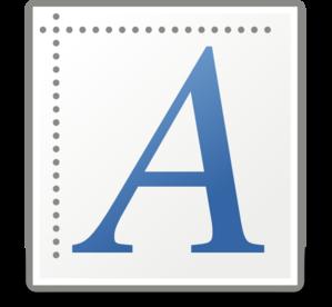 Font X Generic Clip Art at Clker.com.
