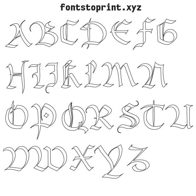 Clipart Fonts Online.