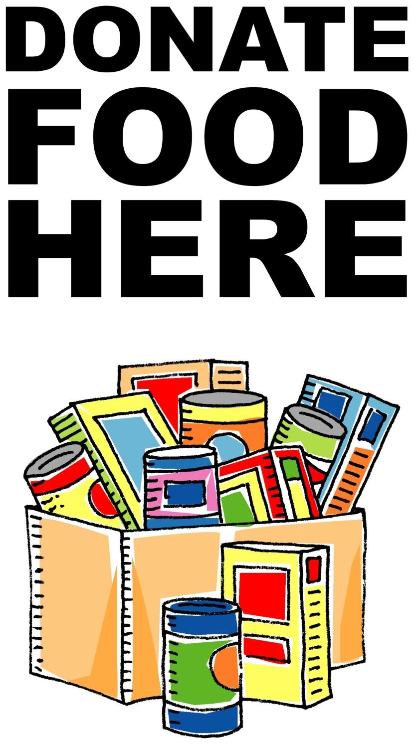 Food Drive Clip Art.