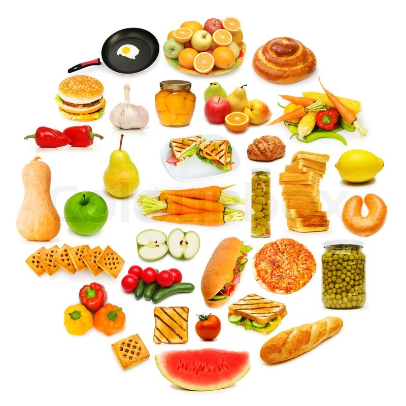 Lots Of Food Clipart.