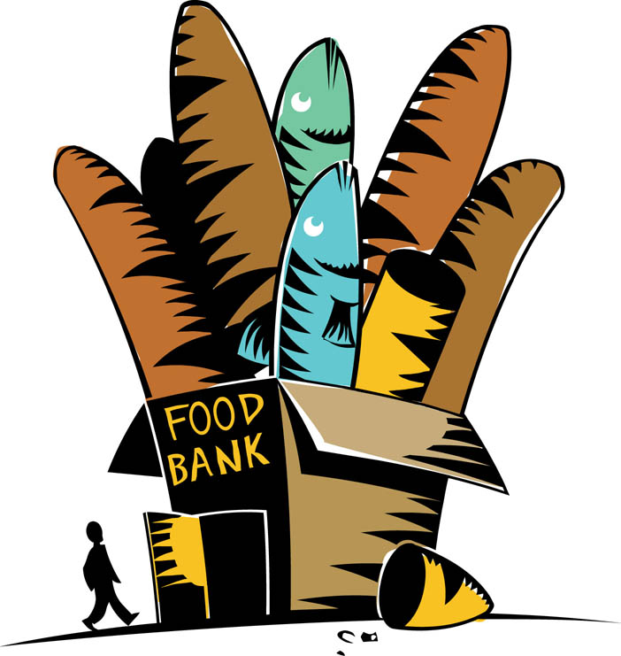 Gallery For > Church Food Pantry Clipart, Food Bank Free Clipart.