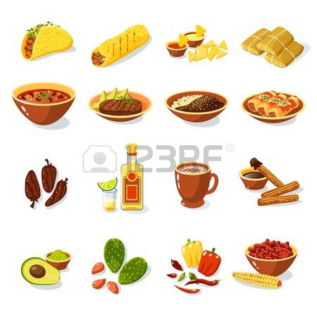 8,704 Mexican Food Cliparts, Stock Vector And Royalty Free Mexican.