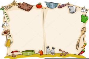 Food Recipe Clipart.