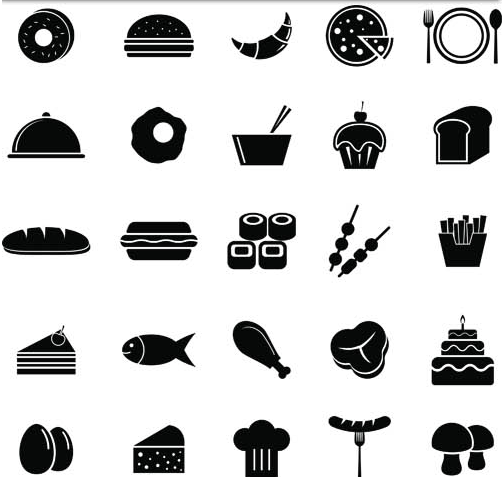 SILHOUETTE FOOD