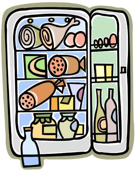 Food Storage Clip Art.