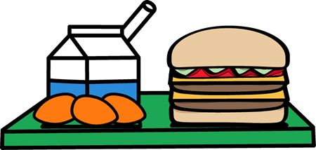 Tray Of Food Clipart.