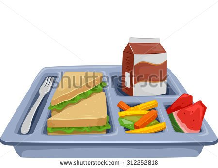 Get Food Tray Clipart, Lunch Tray Free Clipart.