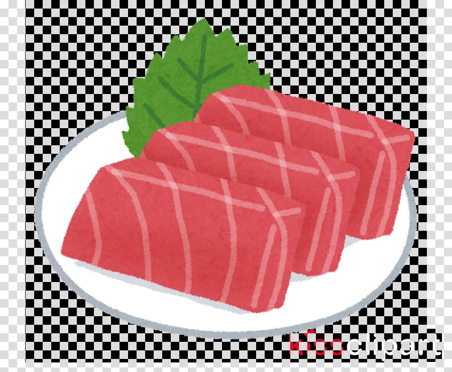 food dish cuisine sashimi beef clipart.