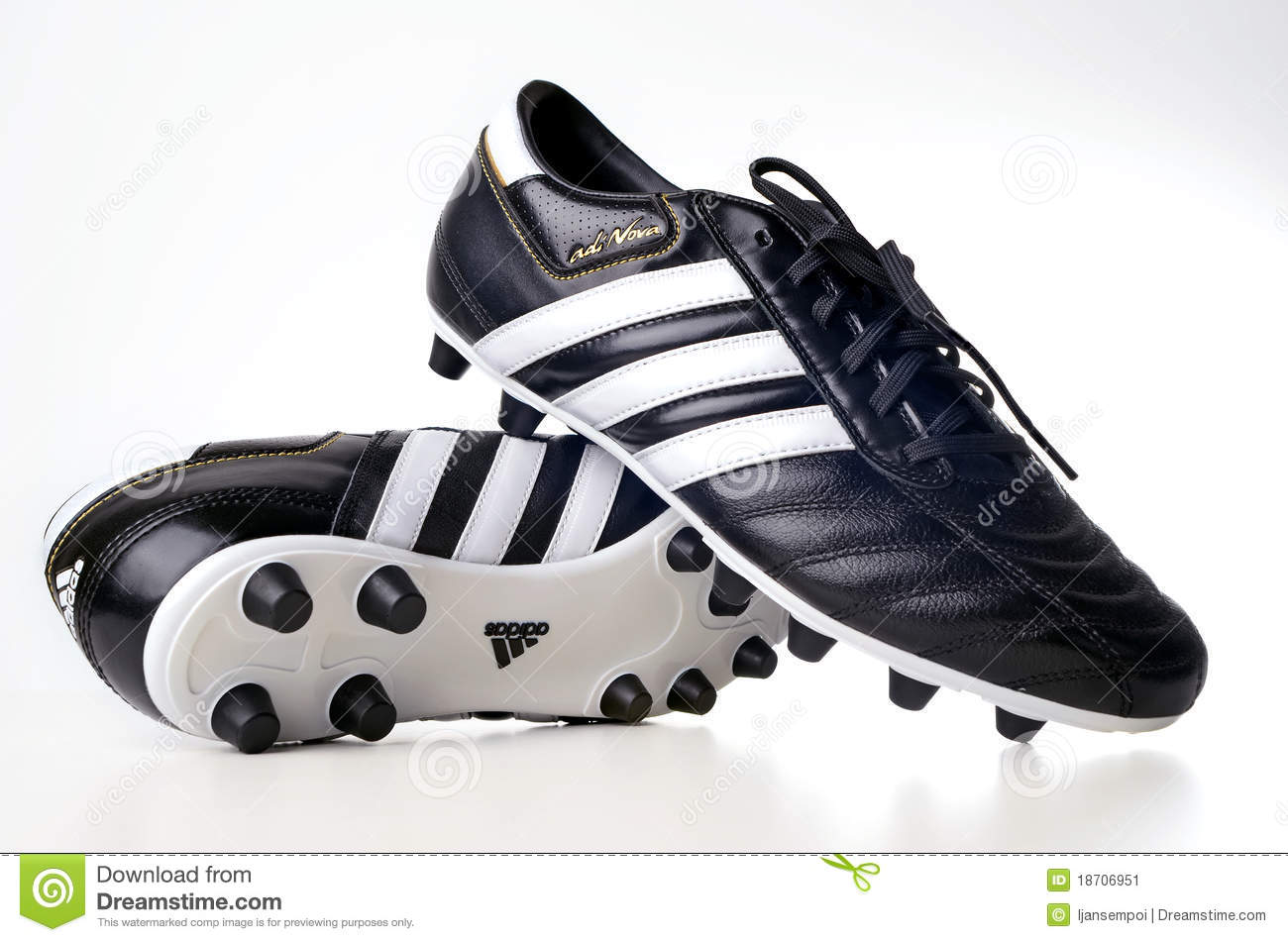 Adidas Football Boots Editorial Stock Photo.