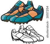 Free football boots clipart vectors.
