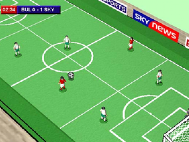 Playing Clipart football match 2.