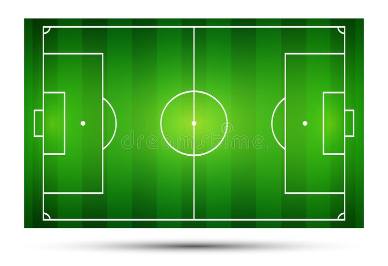 Soccer Football Ball Grass Clipart Stock Illustration.