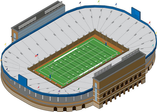 Clipart football stadium 1 » Clipart Station.