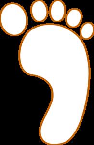 Footprint Clip Art at Clker.com.