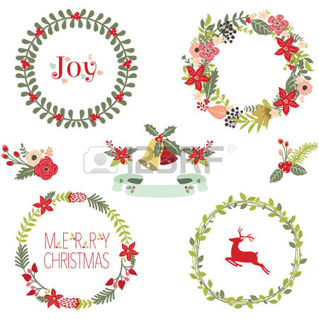 25,439 Christmas Wreath Stock Illustrations, Cliparts And Royalty.