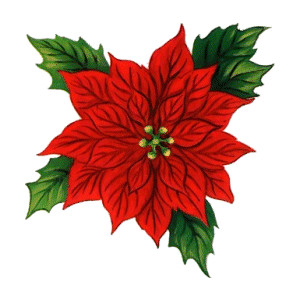 Christmas wreath clip art.