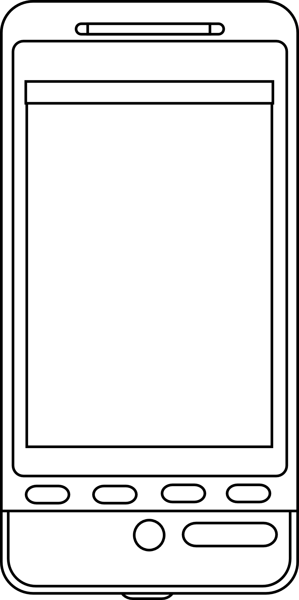 Android Smartphone Clipart.