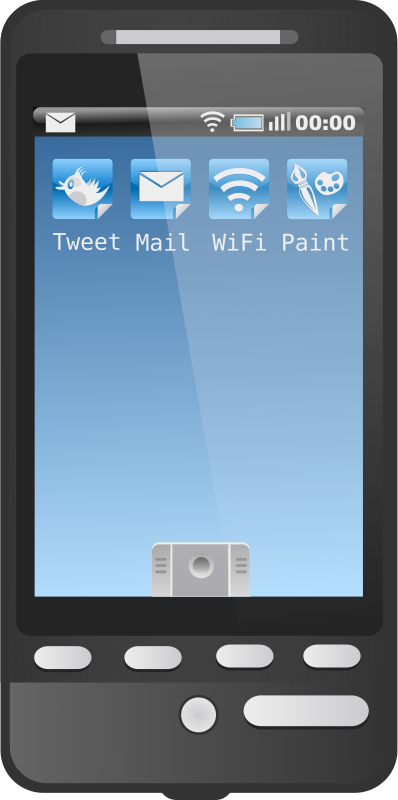 Free Clipart: Android Phone.