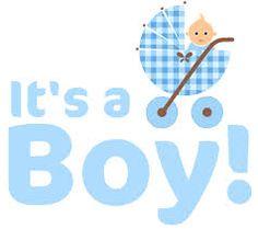 Congratulations baby boy.