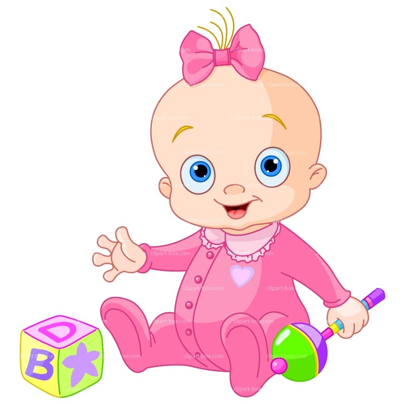 Twin Baby Girl Clipart Free.
