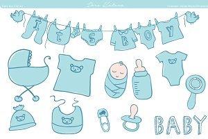 Clipart baby shower boy 1 » Clipart Portal.