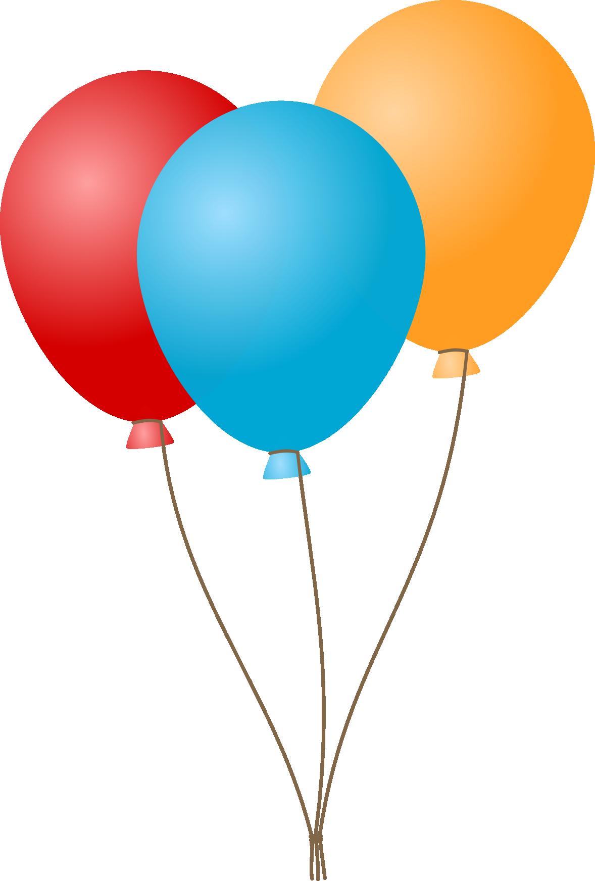 Balloon Birthday Clip art.