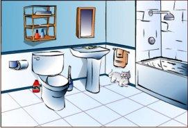 Bathroom Clipart Free.