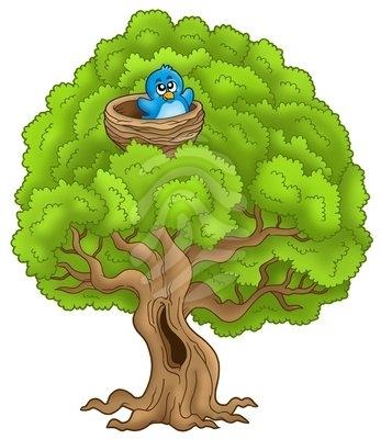 Similiar Bird In A Tree Graphic Keywords.