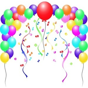 Free Clipart Images Birthday Balloons.