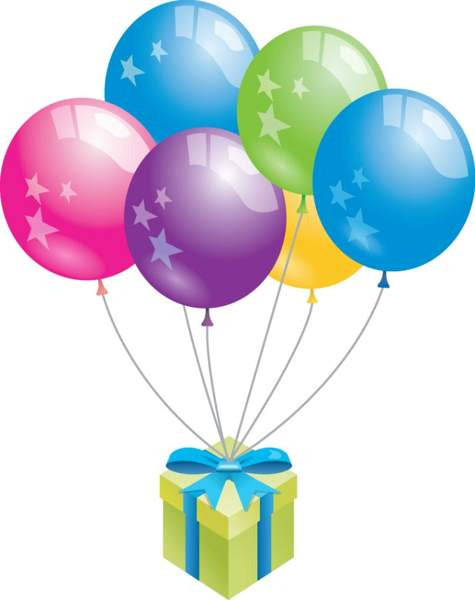 Birthday Balloons Images Clip Art.