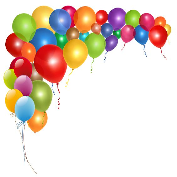 Free Birthday Balloons Clip Art Pictures.