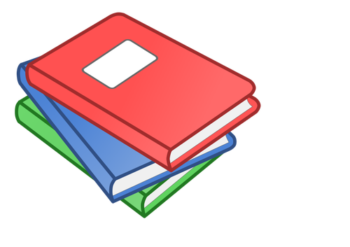 202 books free clipart.