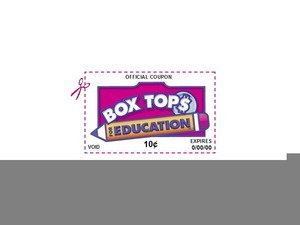 Clipart Box Tops Education.